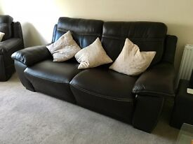 Natuzzi, editions sofa, chair electric recliner.