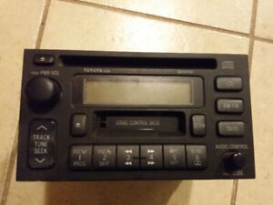 3rd Gen (96-2002) Toyota 4Runner Master window switch and Deck