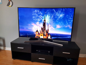 Samsung 55in Curved 4K HDR Smart 3d 9000 Series top of the line