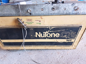 Nutone garage door opener