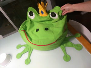 IKEA Frog Prince Bean Bag Chair - BEST OFFER