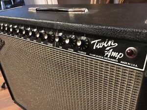 100W 94 FENDER TWIN AMP PR 266 - MADE IN USA