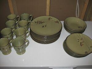 Bamboo Plate Set - $25.00 obo