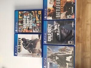 3 PS4 GAMES GREAT CONDITION LOW PRICE Cambridge Kitchener Area image 1