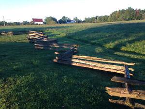 Cedar Rail Fencing