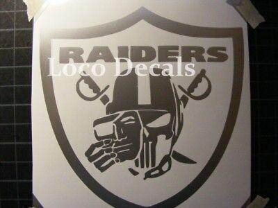 NFL Oakland Raiders Car or Truck Window Vinyl - Nfl Oakland Raiders
