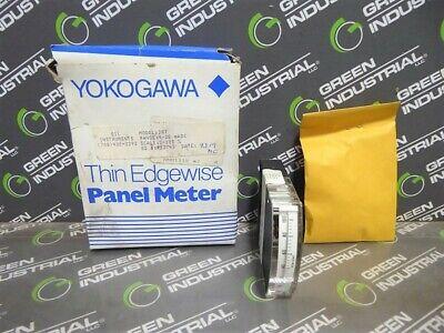 New Yokogawa Eil Instruments 287 Thin Edgewise Panel Meter 0-100 4-20 Madc