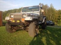 Jeep yj 1995 rought country 4.5po x série