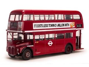 SUNSTAR 1:24 SCALE 2913 1958 ROUTEMASTER LONDON TRANSPORT RM21 - VLT21 BUS *NEW*