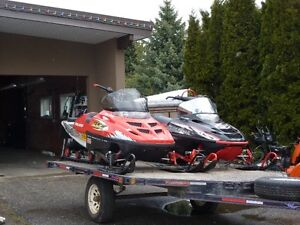 2 Sleds and Trailer for Sale Revelstoke British Columbia image 2