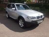 BMW X3 2.0D SPORT, DIESEL, LEATHER, 12 MONTHS MOT