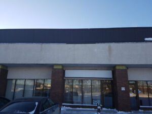 5000 and 10000 sq ft commercial space to sublet March possession