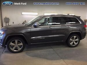 2014 Jeep Grand Cherokee Overland  - one owner - local - sk tax