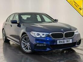 image for 2018 BMW 520D M SPORT AUTO VIRTUAL DASH LEATHER HEATED SEATS SAT NAV SVC HISTORY