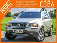 2011 Volvo XC90 2.4 D5 Turbo Diesel SE AWD 4x4 7 Seater Auto Full Leather 1 Lady