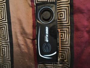GeForce GTX580 video card