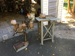 DRILL PRESS (HEAVY DUTY) CAST IRON PRICE NEGOTIABLE