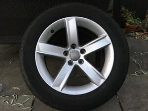 2017 Audi A4 Winter Tires and Rims 225-50-17