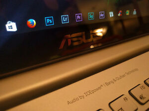 """Hardly used ASUS Touchscreen 15.6"""" laptop"""