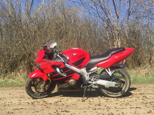 Honda cbr 600 f4 for sale or trade