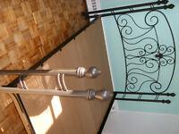 Base de lit Queen Amisco en fer forgé - Très beau modèle