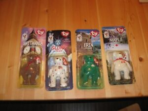 BEANNIE BUDDIES - 2 LOTS OF 4 - REDUCED!!!!