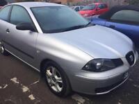 Seat Ibiza 1.2 12v SX 5 DOOR - 2004 04-REG - 6 MONTHS MOT
