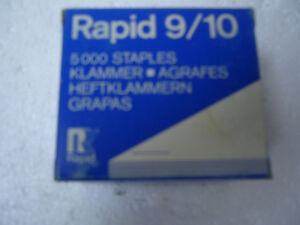 Rapid 9/10 Staples