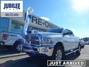 2017 Ram 3500 Laramie Longhorn  - sk tax paid - trade-in - one o