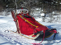 Toboggan Racing Sled