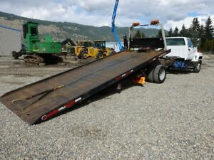 Roll off deck tow truck, low kms