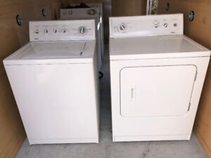 Kenmore 90 series washer dryer