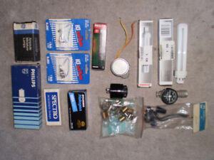 Automotive Bulbs and other small parts