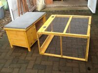 New rabbit or Guinea pig hutch with run