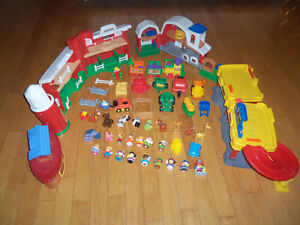 Grande collection Little people jouets jeux