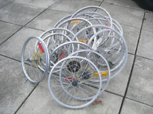 Bike Rims, Wheels, and Tires (Used)