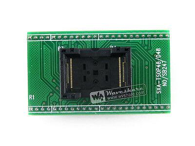 Tsop48 To Dip48 A Tssop48 Yamaichi Ic Test Socket Programming Adapter 0.5pitch