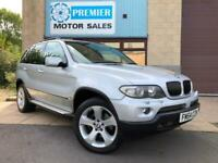 2005 BMW X5 3.0i SPORT AUTO, SAT NAV, FULL LEATHER, CRUISE, PARKING SENSORS