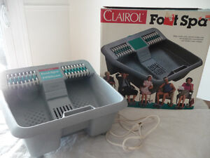 CLAIROL FOOT SPA PLUS LIFE HUMIDIFIER