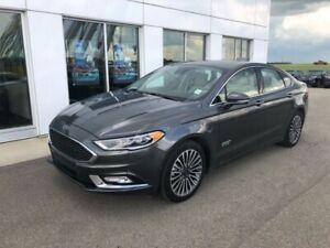 2017 Ford Fusion Energi Platinum  - Leather Seats