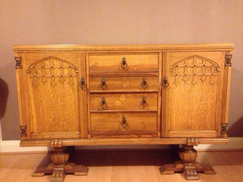 1940s Utility Furniture Oak Sideboard in Haslingden  : 86 from www.gumtree.com size 800 x 600 jpeg 71kB
