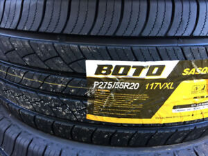 BRAND NEW P275/60R20 SET OF 4 ALL SEASON TIRE 80,000 KM WARRANTY