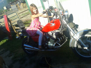 1983 CB1000 for sale or swap for fishing boat