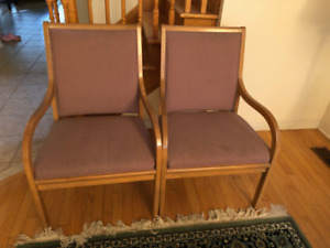 4 Chairs ON SALE - MUST GO TODAY!