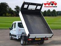 16 FORD Transit 350 2.2 TDCi 125ps L3 Long Wheel Base Double Cab Tipper DIESEL M