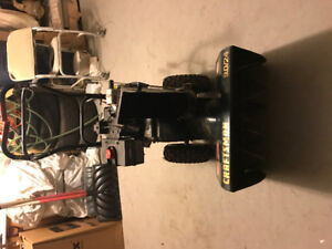 Craftsman Snowblower - $375 or best offer