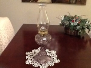 Bulls Eye Fine Detail Oil Lamp With Glass Burner