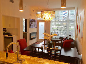 2 bedroom,2 and half bath,parking FURNISHED in OLympic Village