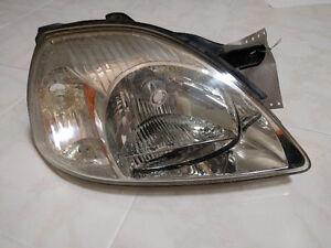 2003-2005 Kia Rio Used OEM Head Light (Right) Side