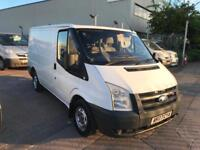 2007 07 FORD TRANSIT VAN SWB LOW MILE FOR YEAR VERY TIDY SUPERB DRIVE MOT NO VAT